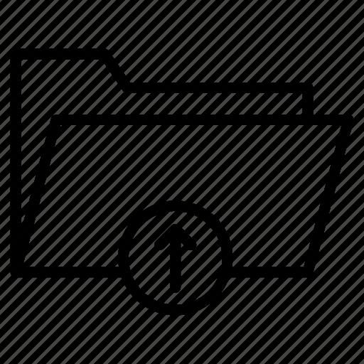directory, files, folder, portfolio, upload icon