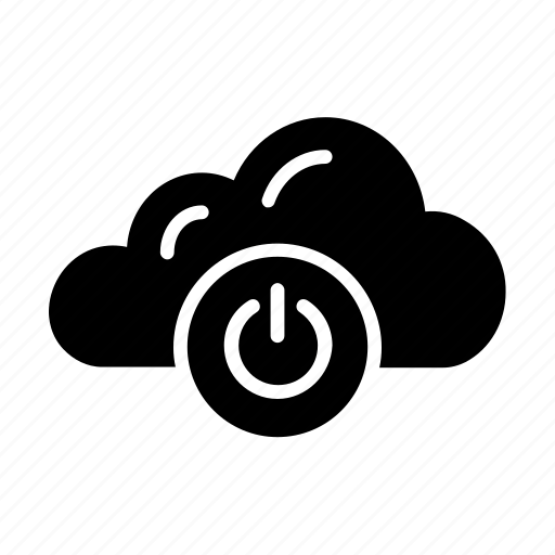 Cloud, logout, off, power, shutdown icon - Download on Iconfinder