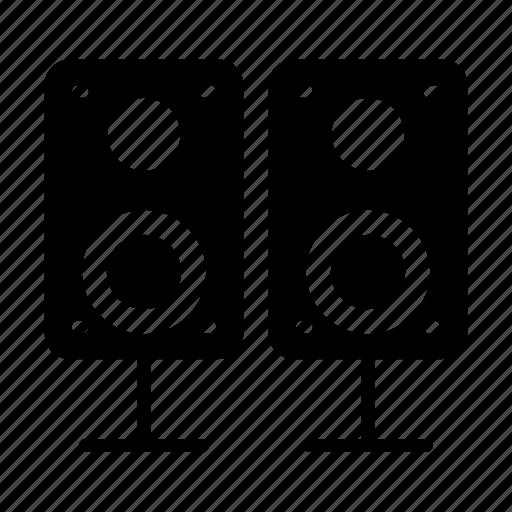 Audio, loud, sound, speaker, woofer icon - Download on Iconfinder