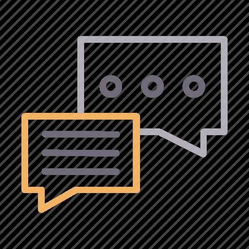 bubble, chat, communication, conversation, messages icon