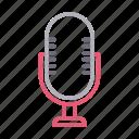 audio, communication, mike, recorder, speaker