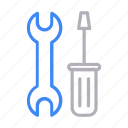 fix, maintenance, repair, setting, tools icon