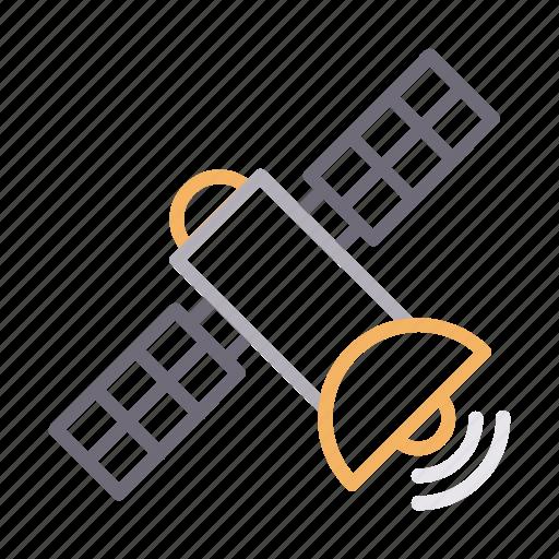 Antenna, communication, dish, satellite, wireless icon - Download on Iconfinder