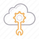 cloud, configure, preference, repair, setting icon