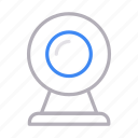 camera, communication, device, gadget, webcam icon