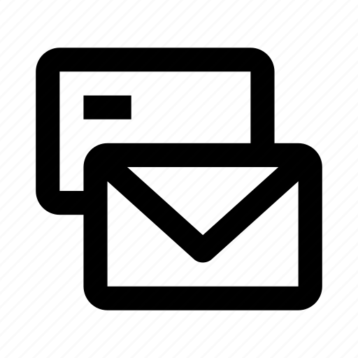 communication, email, envelope, envelopes, letter, mail, message icon