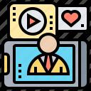 community, media, multimedia, online, social
