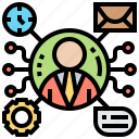 consult, help, information, service, support icon