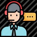 call, center, agent, customer, service, support
