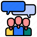 people, team communication, group communication, communicate, discussion