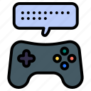 game chat, game communication, discussion, joystick, game strategy