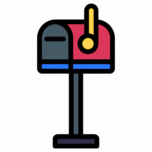 Mailbox, mail, communication, contact, envelope icon - Download on Iconfinder