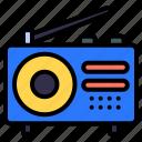 radio, technology, electronics, device, communication