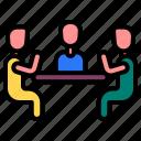 communication, discussion, discuss, meeting, conversation