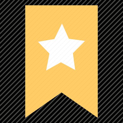 bookmark, flag, full, guardar, mark, round, save icon