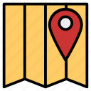 address, google, location, map, maps, street icon