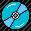 audio, cd, compact, disc, music, recording icon