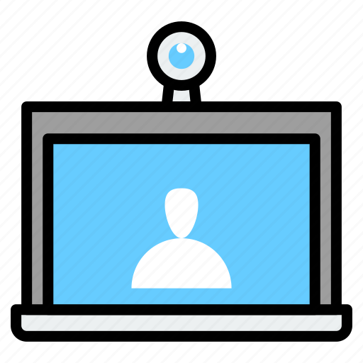 business, call, conference, meeting, teamwork, video icon