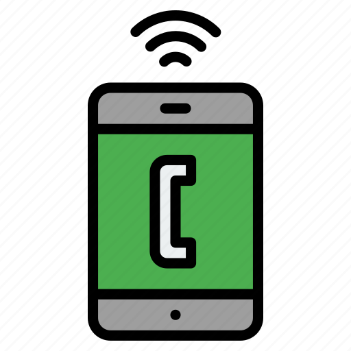 call, connection, contact, phone, ringing, signals, telephone icon