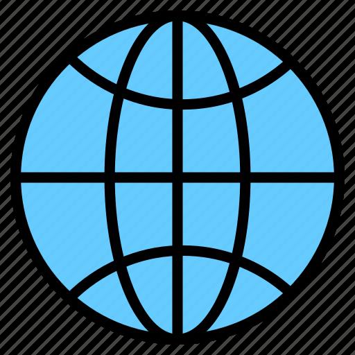 Domain, earth, globe, internet, registration, website icon - Download on Iconfinder