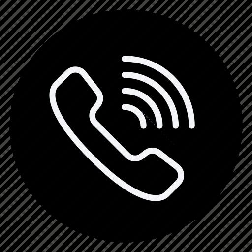 communication, network, phone, technology, telephone, wifi, wireless icon