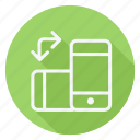 communication, device, mobile, network, networking, smartphone, technology icon
