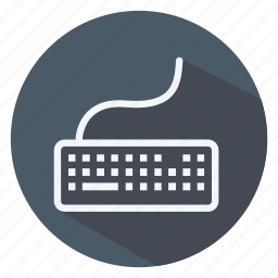 communication, device, keyboard, network, networking, technology, wireless icon