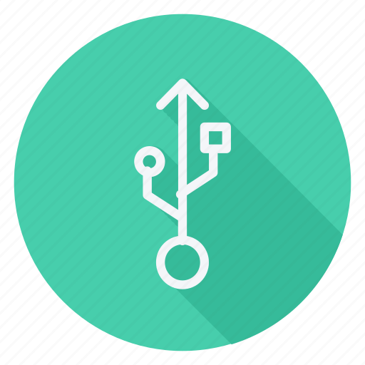 communication, connection, network, networking, port, technology, usb drive icon