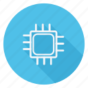 chip, communication, device, microprocessor, network, networking, technology icon
