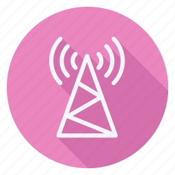 communication, network, networking, technology, telephone, wifi tower, wireless icon