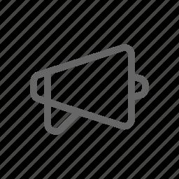 announcement, megaphone, public, publication icon