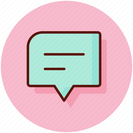 chat, chatting, comment, communication, conversation icon