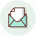 comment, email, envelope, mail, message icon