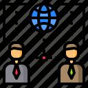avatar, human, man, management, network, person, worldwide