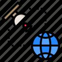 communictionn, earth, global, planet, satellite, world, worldwide