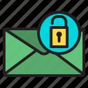 mail, unlock, communication, connection