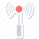 antenna, internet, network, signal, wifi, wireless icon