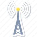 communication, tower, internet, network, signal