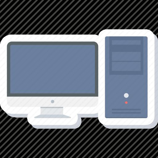 computer, cpu, desktop, monitor, pc, screen, system icon