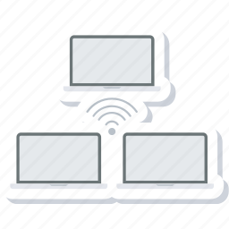computer, connection, network, online, share, sharing icon