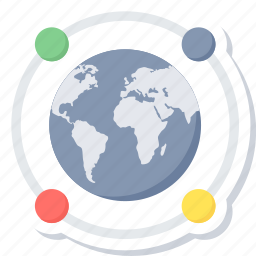 communication, connection, global, internet, network, technology, wireless icon