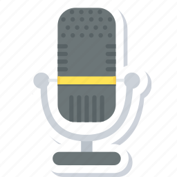 mic, microphone, mike icon