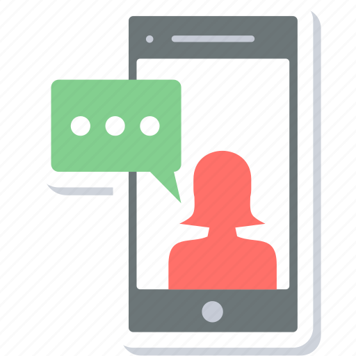 chat, conversation, message, mobile, smartphone, sms, talk icon
