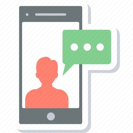 Sms, chat, communication, message, mobile, talk icon - Download on Iconfinder
