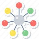 connect, connection, internet, social, web, wifi, wireless icon