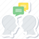 discussion, chat, communication, conversation, message, people