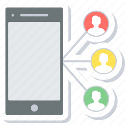 chat, chatting, connection, conversation, group, message, social icon