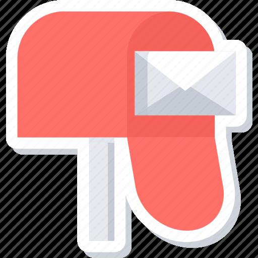 box, envelope, inbox, letter, mail, message, post icon