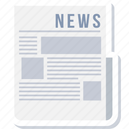 article, blog, feed, information, news, newspaper, page icon