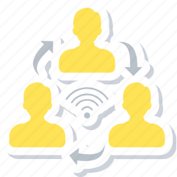 chat, connection, conversation, internet, network, online, talk icon